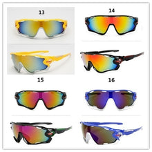Load image into Gallery viewer, 18 Colors New Fashion UV400 Cycling Sunglasses Bicycle Outdoor Sports Bike Unisex Glasses Men Eyewear 18 Colors