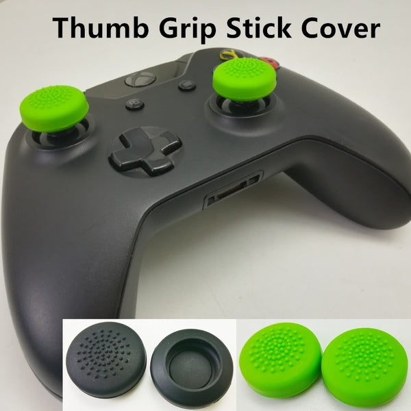 1 Pair / 2 Pcs Game Remote Joystick Cap, Wireless Controllers Silicone Analog Thumb Grip Stick Cover for Xbox One, Switch, Nintendo LF19-049