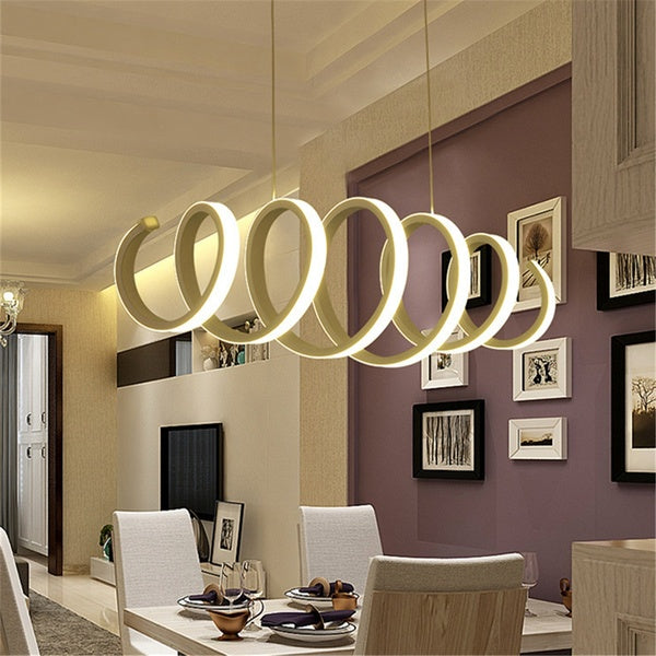 Fashion Modern Art Led Chandelier Ceiling Light Hanging Living Room Home Decor