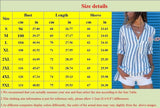 New Trending Clothes Women's Fashion Long Sleeve Pocket T-Shirts Casual Stripes Blouses&shirts Plus Size Tops