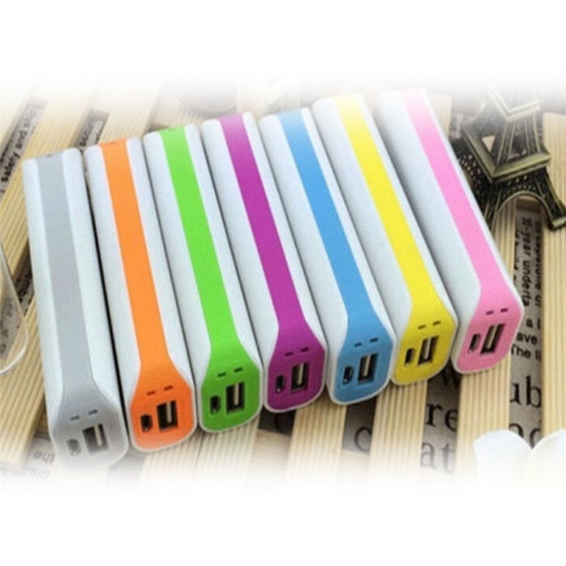 USB Portable Travel External Backup Battery Charger Power Bank Case For Mobile Phones Love U 2