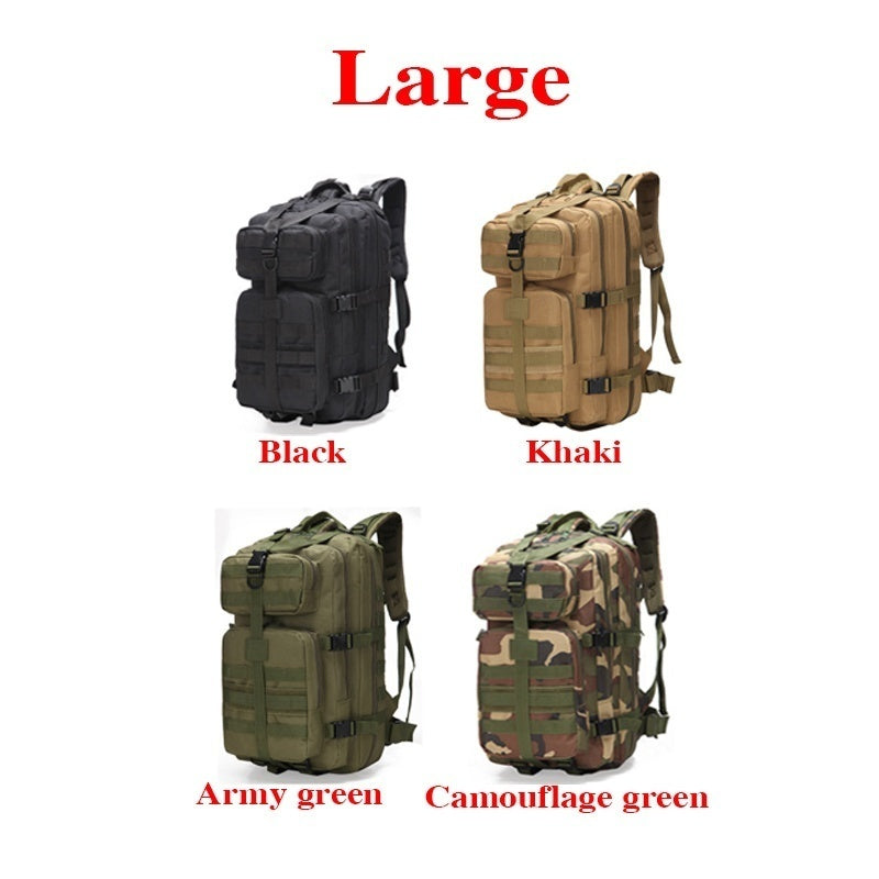 Fashion EDC Military Tactical Assault Pack Sling Backpack Waterproof Outdoor Military Rucksacks Tactical Backpack Sports Camping Hiking Trekking Fishing Hunting Bag Camping Travel Bag