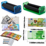 Manual Rolling Machine 70/78/110mm Tobacco Roller Hand Cigarette Maker Also Sell Fruit Flavor USD Bill Rolling Papers