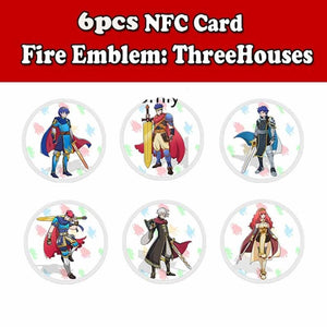 NEW Game Switch Amiibo NFC Cards Characters for Switch Fire Emblem: ThreeHouses Gemu