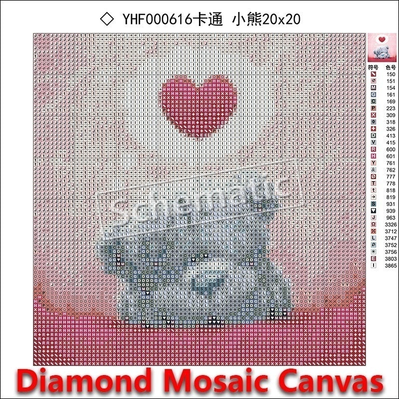 5D DIY Diamond painting Disney Cross stitch Animal dog Round Diamond embroidery Cartoon Full round Diamond mosaic color Car #