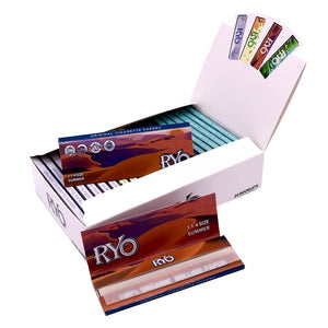 25 x 40 Sheets NEW Classic 1 1/4 SIZE Rolling Papers 77*45mm 1000 Levas Totally Smoking RYO