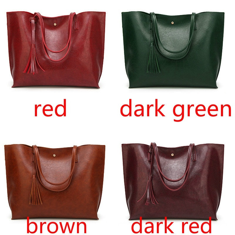 Women's Fashion Casual Temperament Shoulder Bag Handbag