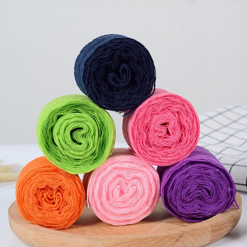 10m/roll 4.5CM Lace Ribbon Tape Trim Fabric DIY Embroidered Net Cord For Sewing Decoration African Lace Fabric Handmade Materials Clothing accessories