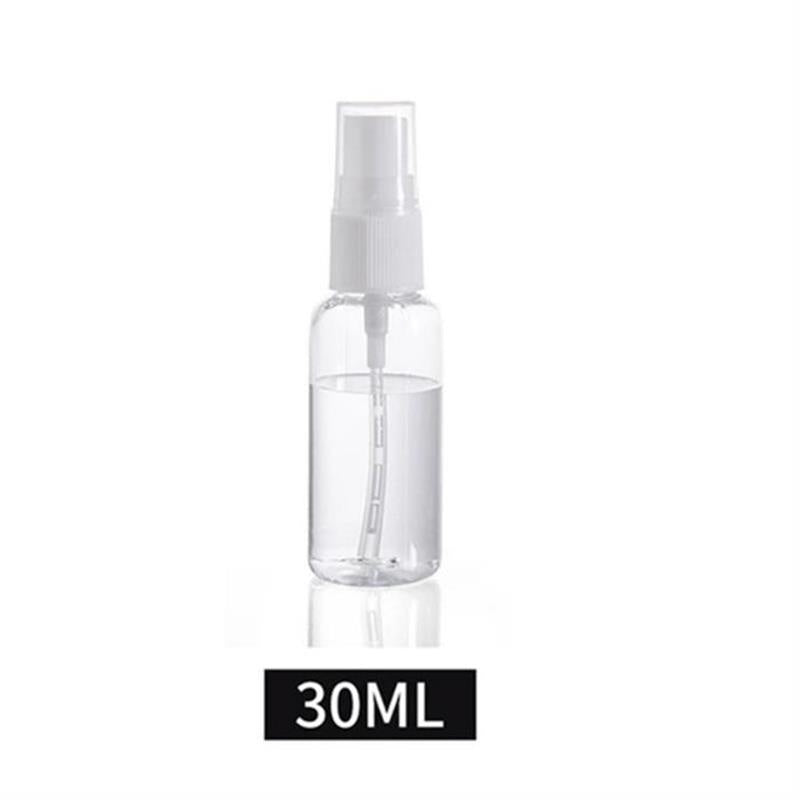 2Pcs Clear Spray Bottle Small Empty Glass Atomizer Perfume Bottles Mini Liquid Tonic Oil Cosmetic Container Spray Refillable Bottles