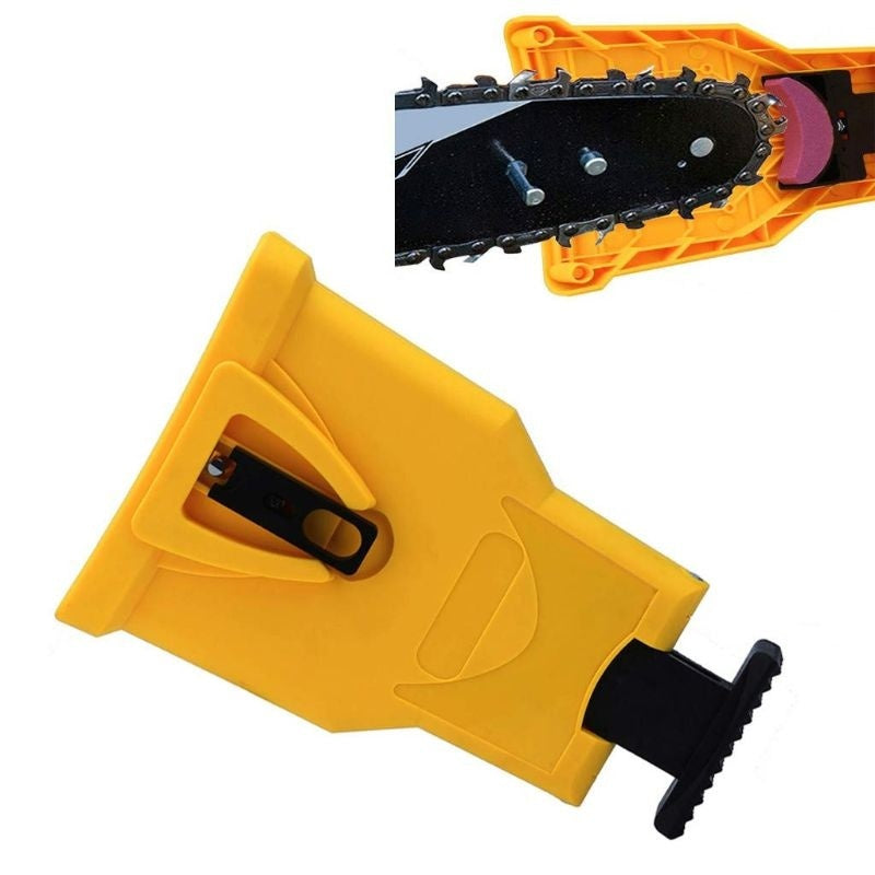 Chainsaw Teeth Sharpener Sharpens Portable Durable Easy File PowerSharp Bar-Mount Fast Grinding Chainsaw Chain Sharpener Tool BAL