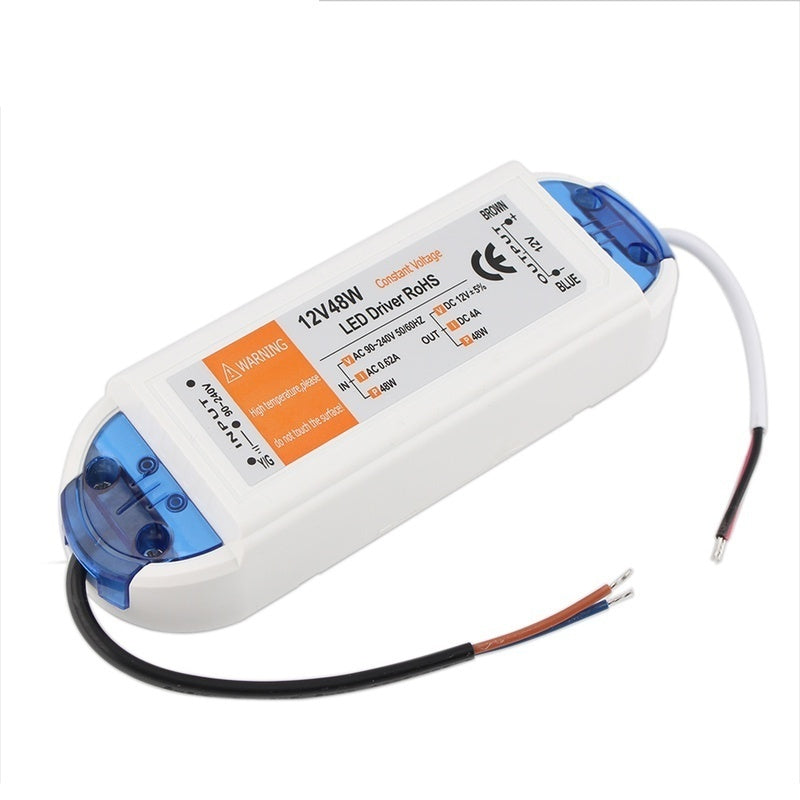 Universal Power Supply 12V LED Driver 18W 28W 36W 48W 72W 100W AC 110V~220V to 12V DC Lighting Transformer
