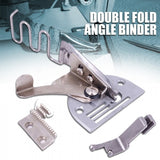 1Pc A10 40MM Double Fold Right Angle Bias Binder Set For Industrial Sewing Machine