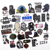 33pcs/set PVC graffiti stickers children DIY skateboard laptop luggage suitcase mobile phone bicycle waterproof stickers Y1297