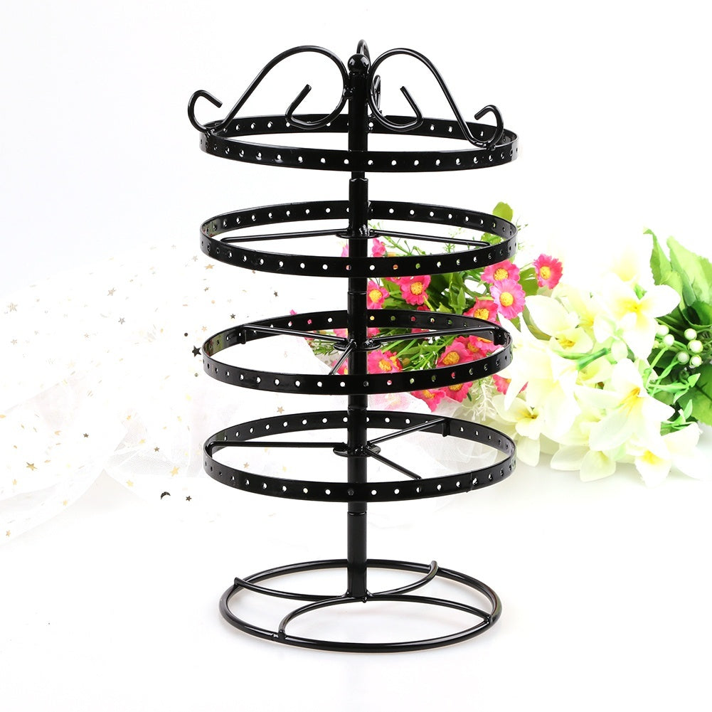 6 Type  Jewelry Display Show Rack Earrings Necklace Ring Pendant Bracelet Stand Storage Racks Organizer Holder