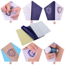 Load image into Gallery viewer, 15pcs Tattoo Transfer Paper Thermal Carbon Transfer Stencil Papers