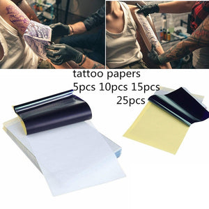 15pcs Tattoo Transfer Paper Thermal Carbon Transfer Stencil Papers