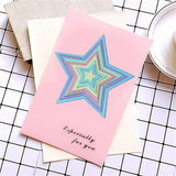 8PCS/SET Basic Stars Cutting Dies Carbon Steel Cutting Dies Scrapbooking Decorative Paper Cards