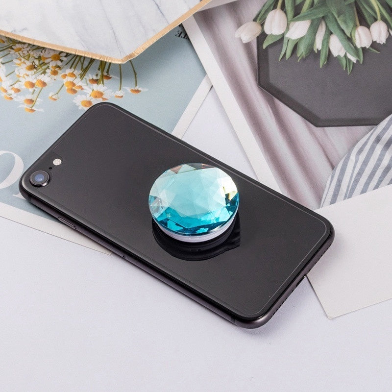 Big Diamond Surface Popular Phone Holder for Iphone Xr Samsung Universal  Finger Ring Phone Stand Phone Support Mobile Phone Bracket