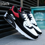 Men's Breathable Sports Casual Shoes Mesh Surface Cushion Running Shoes Students Low Fashion Trend Men's Shoes