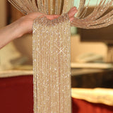 100x200cm Fly Screen Fringe Tassel Curtain String Sparkle Hanging Curtains Room Divider Door Window Decor