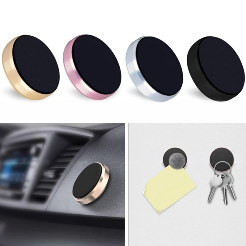 Magnetic Car Phone Holder Universal Mobile Phone GPS Stand Mini Mount For iPhone For Samsung For Huawei