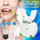 Ultrasonic Automatic Tooth Cleaner Teeth Whitening Automatic Electric Toothbrush Ultrasonic USB Connection Charging Toothbrush Cleaning Teeth No Dead Ends