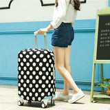 New Travel on Road  Luggage Cover Luggage Protector Suitcase Elastic Dust-proof Protective Covers for Trolley Case Trunk Case Apply To 22-28 Inch