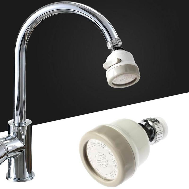 1PC Moveable Water Filter Water-Saving Device High Pressure Kit 360 Rotary Faucet Sprayer Head Water Saving Taps Bathroom Accessories