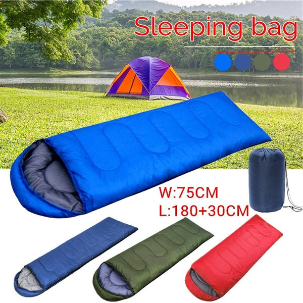 Waterproof 210x75CM Sleeping Bag for Single Person for Outdoor Hiking Camping,Warm Soft Adult One Person Use