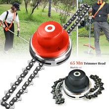 Load image into Gallery viewer, 2020 NEW Coil 65Mn Chain Trimmer Head Brushcutter Garden Grass Trimmer for Lawn Mower Tool