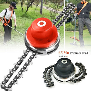 2020 NEW Coil 65Mn Chain Trimmer Head Brushcutter Garden Grass Trimmer for Lawn Mower Tool
