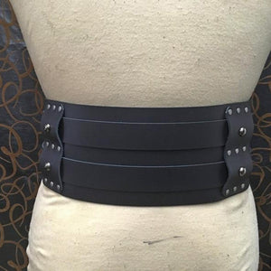 2019 New Gladiator Double Belt Medieval Viking Cosplay Costume Removable Belt