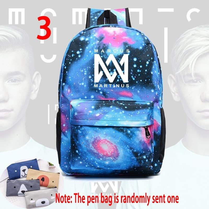 Marcus and Martinus Backpack School Bag for Boys Girls Student Backpack