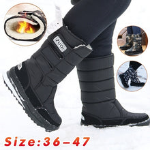 Load image into Gallery viewer, Size:36-47 NEW Outdoor Winter Snow Boots Men Skiing Boots with Fur Casual Warm Winter Shoes plus size 3 Colors