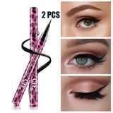 2Pcs/Set Women's Makeup Rotary Retractable 3D Eyeliner Pencil Waterproof Eye liner Pen Cosmetic Tool