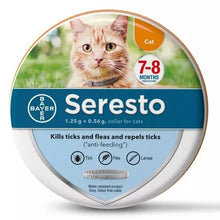 Load image into Gallery viewer, 2019 New Look Seresto Flea & Tick Collar for Large Dogs, Small Dogs and Cats, All Weights, 8 Month Protection
