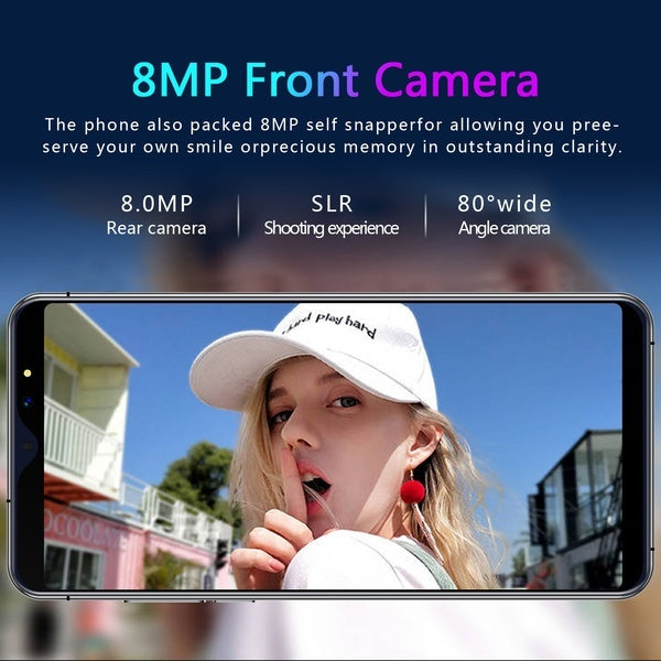 New Hot High Version P31 Pro 6.3 Inch Screen Android Phone 6GB+128GB Bluetooth Wifi 8MP+16 MP Camera Mobile Phone Eight Core 4G Smart Phone