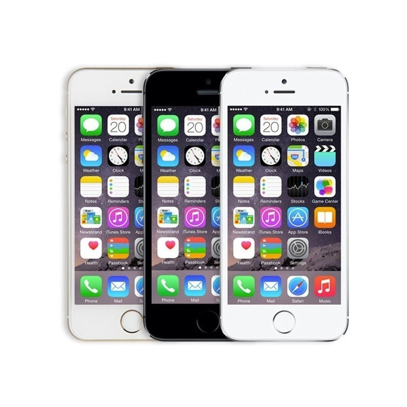 "Refurbished Apple iPhone 5s 4G 16GB Smartphone 4.7"" Touch ID Silver Gray Gold"