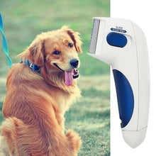 Load image into Gallery viewer, New Electric Cat Dog Terminator Removal Brush Kill Lice Cleaner Electric Head Pet Flea Lice Comb For Dog Electronic