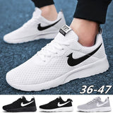Running Shoes Women&Men Fashion Casual Shoes Sport Lightweight Breathable Mesh Fabric Shoes Plus Size 36-47