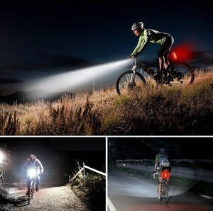 Mountain Bike Warning Light Bicycle Headlights Bike Light Taillights Riding Bicycle Accessories Led Lights (Style A / Style B)
