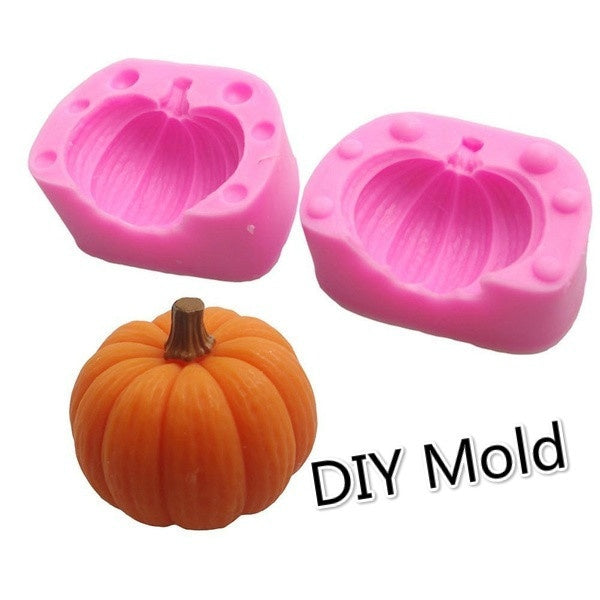 The New Product Halloween 3D Pumpkin Silicone Mould Decoration Fondant DIY Mold