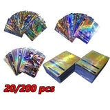 20/200 PCSKids Toys Cards Flash Carte Trading Card Shining Toy EX GX MEGA