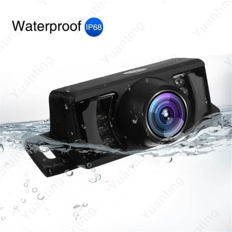 New Built-in Wireless Waterproof Night Vision System Reverse Backup HD Car Camera with 5'Monitor Kit