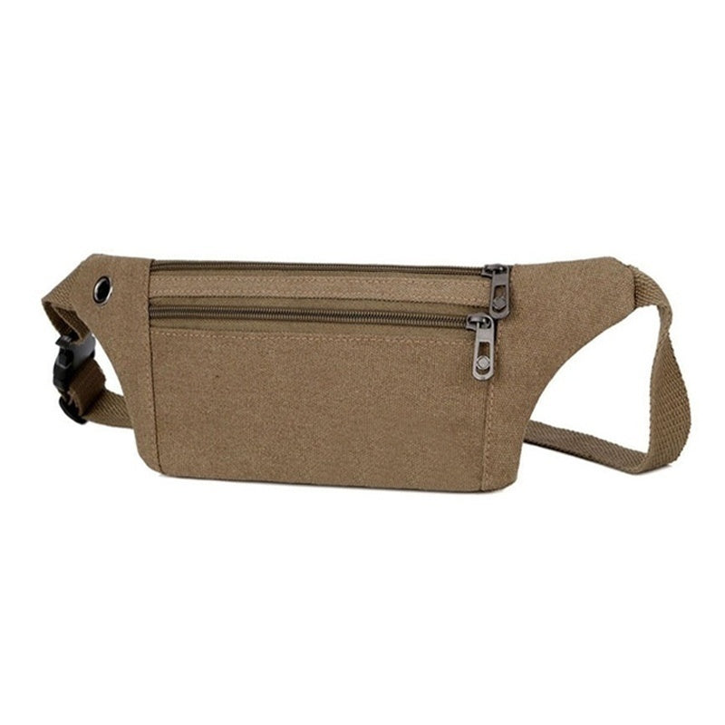 High Quality Sport Canvas Belt Bag for Men/women Waterproof Running Phone Bag