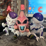 Dragon Ball Evil Majin Buu Frieza Statue Action Figure Collection Model Brinquedos Figurals Gift