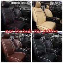 Load image into Gallery viewer, New Fashion Luxury Universal Leather Car Seat Cover Car Seat Cover Cushion Car Front Seat Cover Cushion Cover Car Interior Decoration Accessories