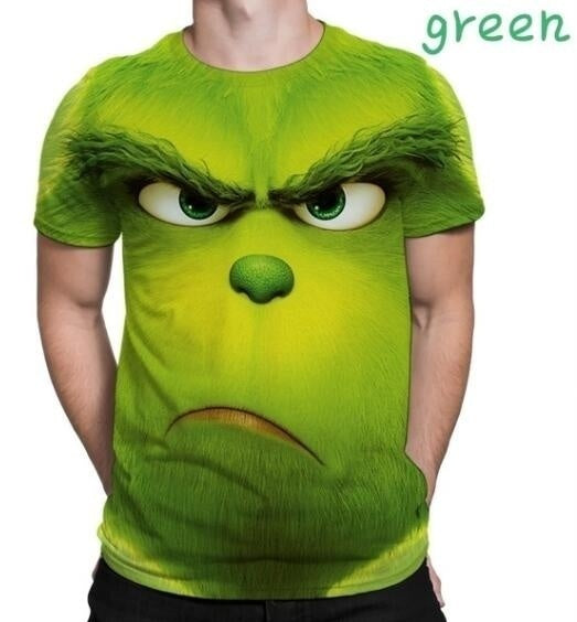 2019 Fashion Movie How the Grinch Stole Christmas T-shirt 3D Printed Grinch Sweatshirts