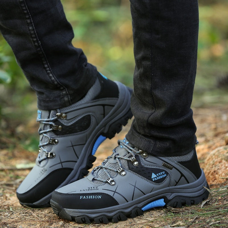 Men's Outdoor Low-top Hiking Shoes Non-slip Climbing Shoes Sneakers