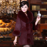 New Arrivals Women Fur Coats Elegant Fluffy Fake Female Long Sleeve Outerwear Coats Womens Chic Overcoat Jacket